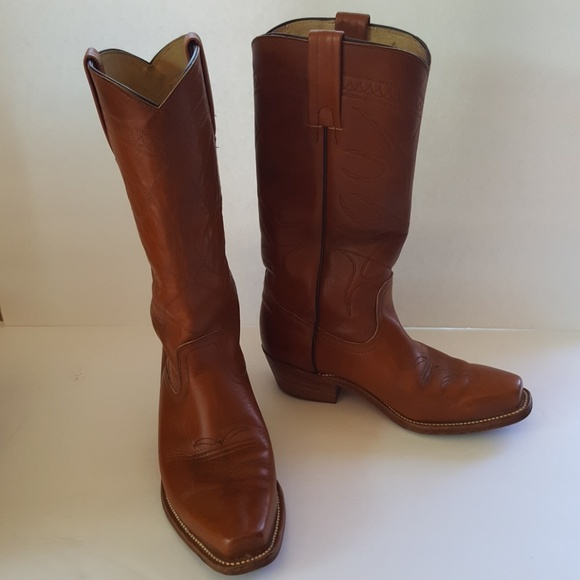 953e32e9af632 TRUE Vintage Frye Cowboy Boots #2245 8.5D/9.5D